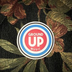 Ground up music decal